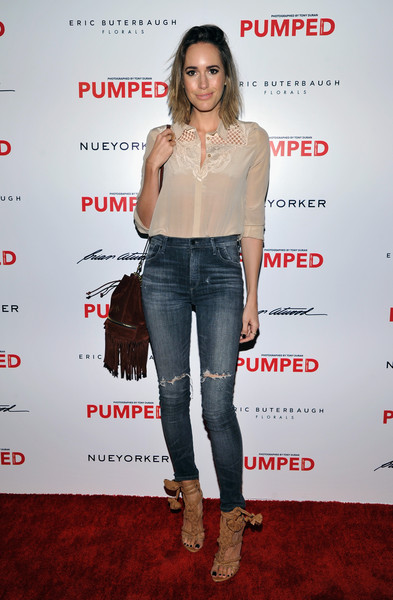 Louise Roe Ripped Jeans