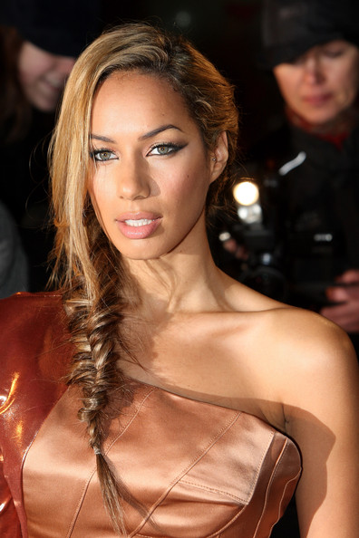 More Pics of Leona Lewis Long Braided Hairstyle (2 of 12) - Long Braided Hairstyle Lookbook - StyleBistro