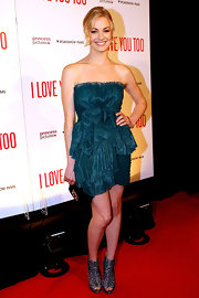 "Yvonne showed off a killer pair of Jimmy Choo sandals while attending the ""I Love You Too"" premiere. Her heels are from the Spring 2010 collection and have been seen on the feet of many celebs."