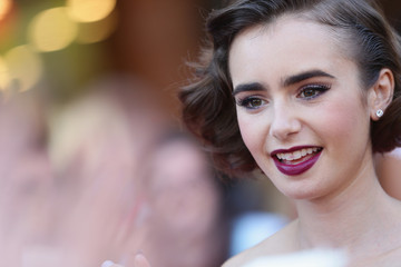 Get the Look: Lily Collins' Perfect Transitional Ensemble