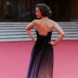Lily Collins in Elie Saab at the Rome Film Festival