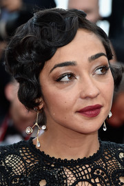 Ruth Negga rocked a vintage-inspired 'do at the Cannes Film Festival premiere of 'Loving.'