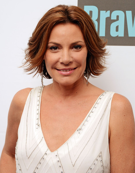 LuAnn de Lesseps Layered Razor Cut [around the world in 80 plates,the real housewives of new york city,hair,face,hairstyle,eyebrow,chin,shoulder,beauty,layered hair,blond,brown hair,cast member,luann de lesseps,metropolitan pavilion,new york city,bravo,finale celebration]