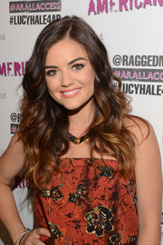 Lucy Hale looked oh-so-pretty with her summer-chic waves at the All Access campaign.