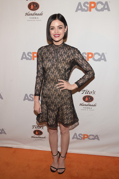 Lucy Hale Lace Dress