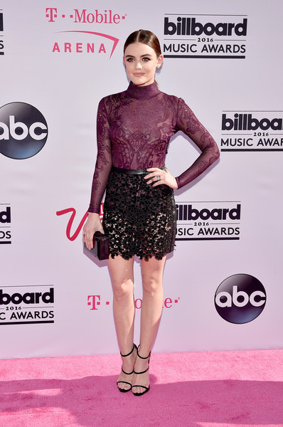 Lucy Hale Mini Skirt