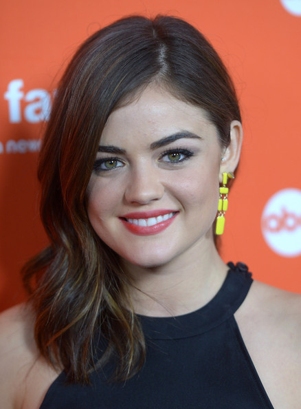 Lucy Hale Side Sweep