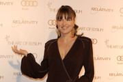 Lucy Lawless Evening Dress