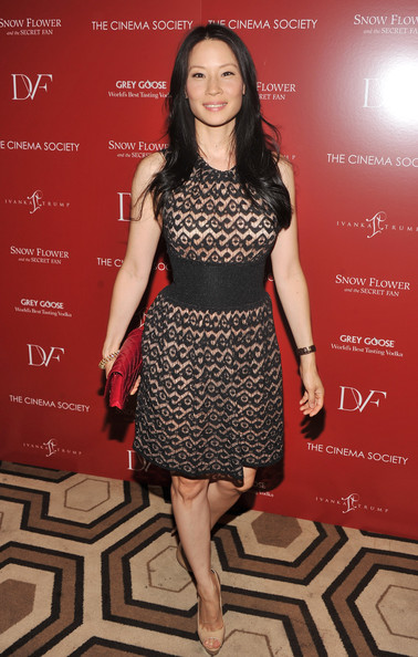 Lucy Liu Cocktail Dress Lucy Liu Looks Stylebistro