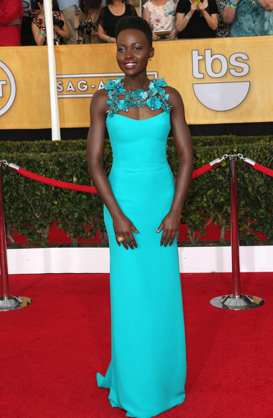 Lupita Nyong'o Evening Dress