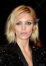 Anja Rubik looked trendy with her layered bob at the 2019 Cannes Film Festival screening of 'Lux Aeterna.'