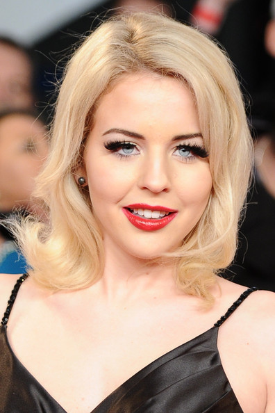 Lydia Bright Red Lipstick