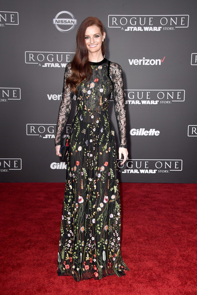 Lydia Hearst Embroidered Dress