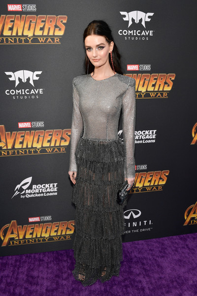 Lydia Hearst Sheer Dress