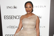 Lynn Whitfield One Shoulder Dress