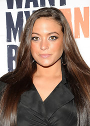 Sammi Giancola wore her silky tresses long and straight at the premiere of 'I Just Want My Pants Back.
