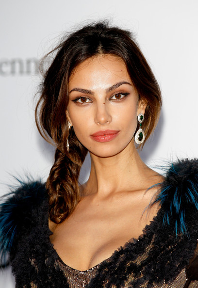 Madalina Ghenea Long Braided Hairstyle