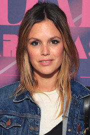 Rachel Bilson wore her hair in a loose straight style with a center part at the Rodarte limited edition capsule presentation.