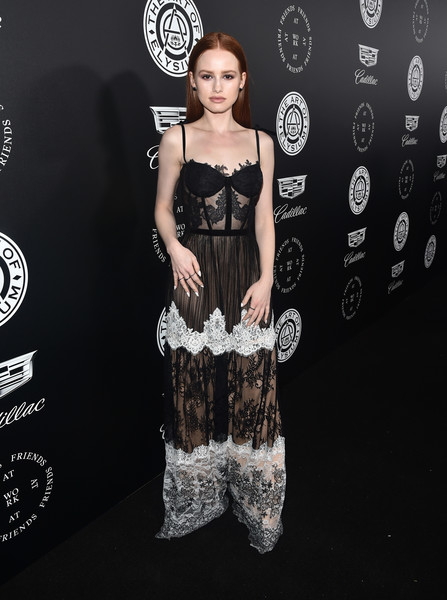 Madelaine Petsch Corset Dress