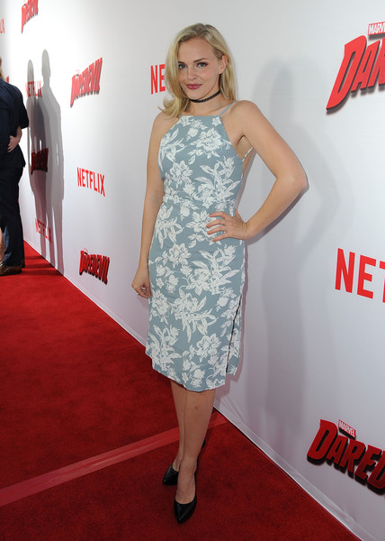 Madeline Brewer Print Dress