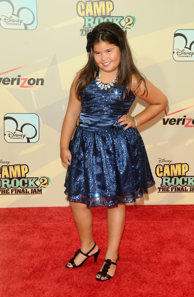 Madison De La Garza Cocktail Dress [camp rock 2: the final jam,madison de la garza,flooring,carpet,shoulder,red carpet,hairstyle,girl,fashion model,cocktail dress,joint,long hair,inside arrivals,actress,new york,lincoln center,alice tully hall,premiere]