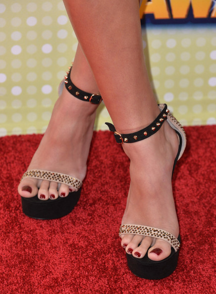 Madison Pettis Studded Heels