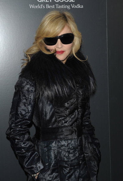 Madonna Rectangular Sunglasses