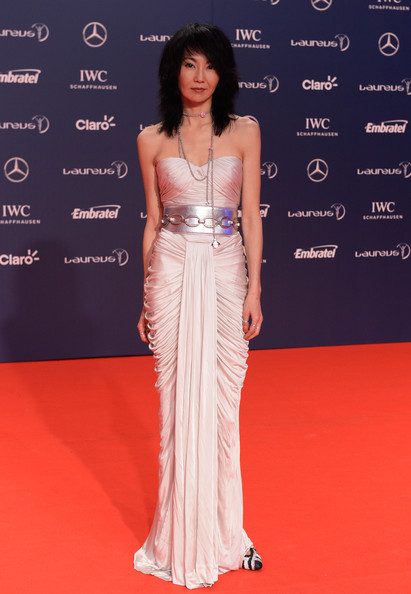 Maggie Cheung Strapless Dress