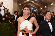 Maggie Gyllenhaal Cutout Dress