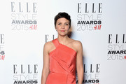 Maggie Gyllenhaal One Shoulder Dress