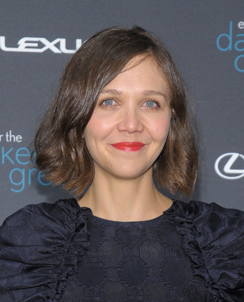 Maggie Gyllenhaal Bob [hair,face,hairstyle,eyebrow,lip,chin,forehead,blond,brown hair,layered hair,maggie gyllenhaal,climate change debate,the darker side of green,new york city,skylight west,darker side of green climate change debate]