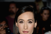 Maggie Q Long Side Part