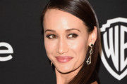 Maggie Q Long Straight Cut