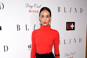 Maggie Q Turtleneck