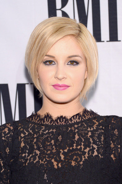 Maggie Rose Graduated Bob [hair,face,blond,hairstyle,eyebrow,bob cut,bangs,lip,chin,beauty,arrivals,maggie rose,awards,bmi country awards,nashville,tennessee,bmi country]