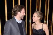 Bradley Cooper and Jennifer Lawrence  attend the after party of a screening of