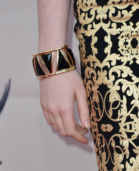 Maisie Williams Gold Bracelet