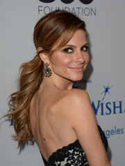 Maria Menounos proved it's possible to make a ponytail look breathtakingly glam when she wore this hairstyle at the Make-A-Wish Greater LA Gala.