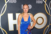 Malin Akerman Halter Dress