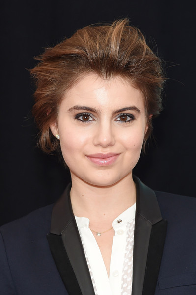 Sami Gayle looked cool with her wind-blown 'do at the New York premiere of 'The Man from U.N.C.L.E.'