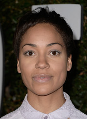 Cush Jumbo kept it simple with this pixie cut at the premiere of 'Mandela: Long Walk to Freedom.'