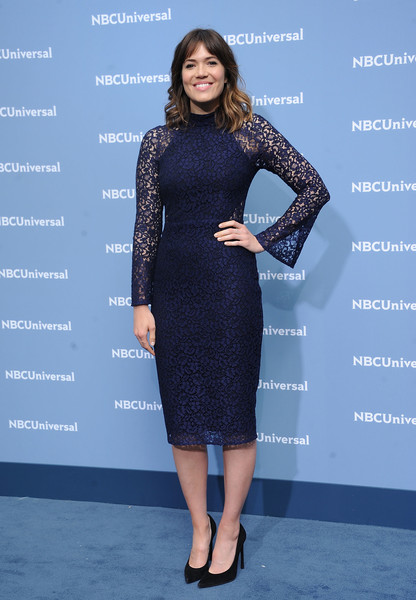 Mandy Moore Lace Dress
