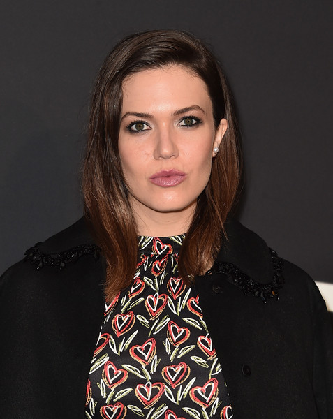 Mandy Moore Long Side Part [hair,face,eyebrow,beauty,hairstyle,lip,chin,neck,brown hair,long hair,david o. russell,mandy moore,arrivals,prada presents past forward,los angeles,california,hauser wirth schimmel,premiere]