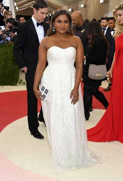 Mindy Kaling Best Dressed At The 2016 Met Gala Stylebistro