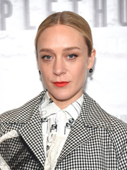Chloe Sevigny sported a tight, center-parted bun at the New York premiere of 'Mapplethorpe: Look at the Pictures.'