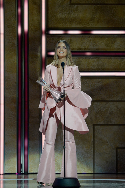Maren Morris Pantsuit [cmt artists of the year - inside,performance,fashion,performing arts,outerwear,costume,event,cosplay,stage,maren morris,honoree,award,nashville,tennessee,schermerhorn symphony center,cmt artists of the year]