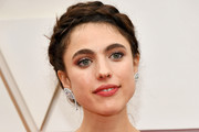 Margaret Qualley Braided Updo
