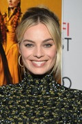 Margot Robbie Gold Hoops