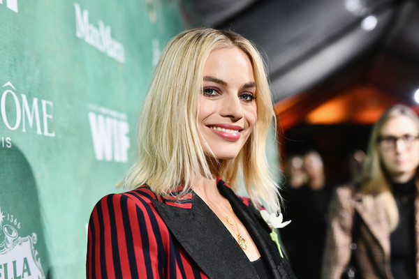 Margot Robbie Medium Layered Cut