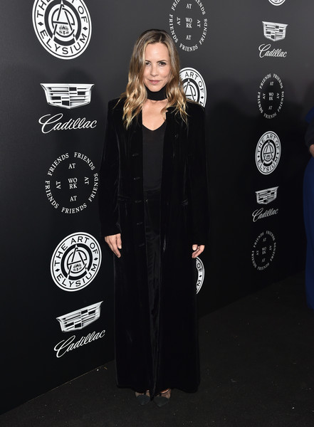 Maria Bello Evening Coat